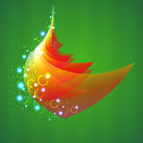Año Nuevo y árbol de navidad Imagen de archivo libre de regalías