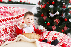 Año Nuevo y concepto de la Navidad Foto de archivo