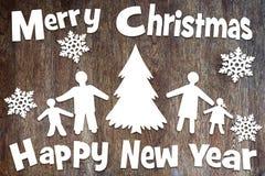 Año Nuevo y días de fiesta de la Navidad Fotografía de archivo libre de regalías