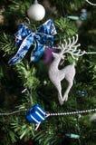 Año Nuevo y decoración de la Navidad Foto de archivo libre de regalías