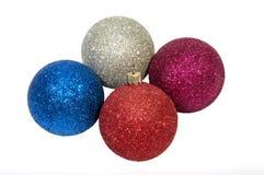 Año Nuevo y decoraciones de la Navidad y Imagenes de archivo