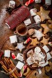Año Nuevo y dulces de la Navidad Imágenes de archivo libres de regalías