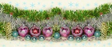 Año Nuevo y enhorabuena de la Navidad Imágenes de archivo libres de regalías