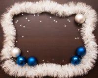 Año Nuevo y fondo de la Navidad con el espacio para su texto Fotografía de archivo
