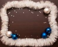 Año Nuevo y fondo de la Navidad con el espacio para su texto Imagenes de archivo