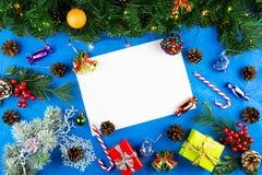 Año Nuevo y la Navidad foto de archivo