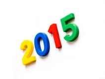 Año Nuevo y la Navidad 2015 Foto de archivo libre de regalías
