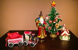Año Nuevo y la Navidad Fotografía de archivo libre de regalías