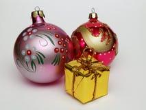 Año Nuevo y la Navidad Imagenes de archivo