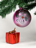 Año Nuevo y la Navidad Imágenes de archivo libres de regalías