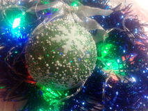Año Nuevo y la Navidad Foto de archivo libre de regalías