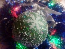Año Nuevo y la Navidad Fotos de archivo