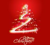 Año Nuevo y para el diseño colorido de la Navidad stock de ilustración