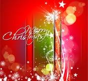 Año Nuevo y para el diseño colorido de la Navidad Foto de archivo