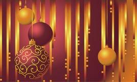 Año Nuevo y para la Navidad, ilustración Fotografía de archivo