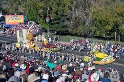Año Nuevo y Rose Parade Fotos de archivo libres de regalías