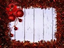 Año Nuevo y tarjeta de Navidad Fotografía de archivo