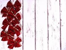 Año Nuevo y tarjeta de Navidad Foto de archivo