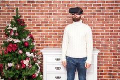 Año Nuevo y VR Fotos de archivo