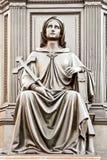 Año 1876. Pedestal del monumento a rey Frederick Augustus I Imagen de archivo libre de regalías