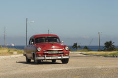 Años 50 clásicos La Habana de Plymoth Imagenes de archivo