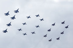 100 años de fuerza aérea de Rusia Fotografía de archivo libre de regalías