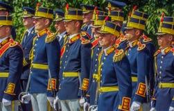 100 años después de la primera guerra mundial en Europa, conmemoración en Europa, héroes rumanos Foto de archivo libre de regalías