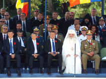 100 años después de la primera guerra mundial en Europa, conmemoración en Europa, héroes rumanos Imagen de archivo libre de regalías