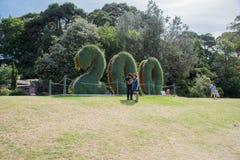 200 años: Jardín botánico real Sydney Fotografía de archivo libre de regalías
