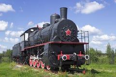 Años 20 locomotores rusos típicos del siglo pasado Fotos de archivo