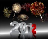 Años Nuevos 2012 Imagen de archivo