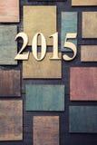 2015 Años Nuevos Fotos de archivo libres de regalías