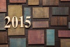 2015 Años Nuevos Imagen de archivo libre de regalías