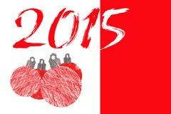 2015 Años Nuevos Foto de archivo