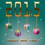 2015 Años Nuevos Foto de archivo libre de regalías