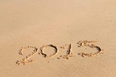Años Nuevos 2015 Imagen de archivo libre de regalías