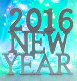 2016 Años Nuevos Foto de archivo libre de regalías