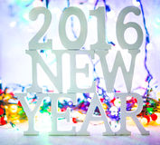 2016 Años Nuevos Imagen de archivo