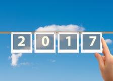 2017 Años Nuevos Foto de archivo