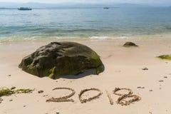 2018 Años Nuevos Foto de archivo libre de regalías