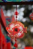 Años Nuevos chinos de decoraciones Imagen de archivo libre de regalías
