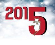 2015 Años Nuevos chinos de la cabra