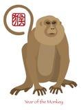 2016 Años Nuevos chinos del ejemplo de color del mono