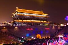 2019 Años Nuevos chinos en Xian foto de archivo