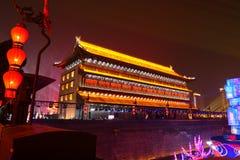 2019 Años Nuevos chinos en Xian imagenes de archivo