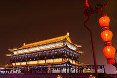 2019 Años Nuevos chinos en Xian fotos de archivo libres de regalías