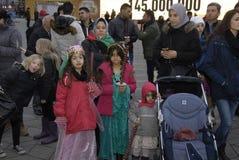 AÑOS NUEVOS DAY_KURDS DE LOS KURDS EN DINAMARCA Fotos de archivo