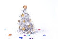 Años Nuevos de árbol Fotografía de archivo libre de regalías