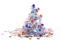 Años Nuevos de árbol Imagen de archivo libre de regalías