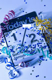 Años Nuevos de calendario Foto de archivo